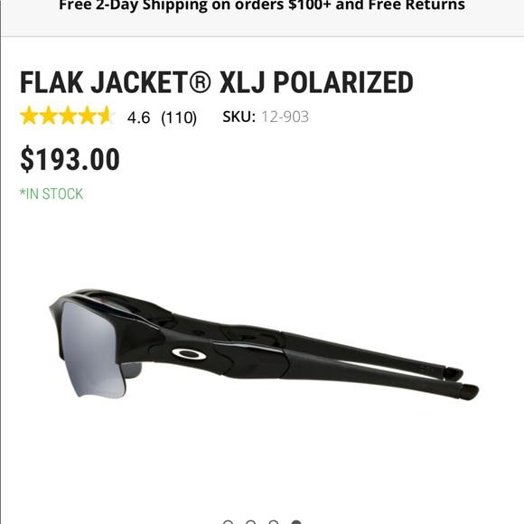 400b11a892cdb Oakley Flak Jacket XLJ polarized Sunglasses. M 5a3ea8d446aa7ca62d055ee0